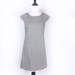 Ann Taylor Petites Cap Sleeve Shift Dress 2P